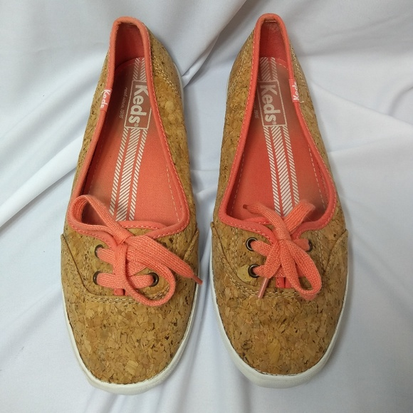 Keds Shoes - Keds Coral Cork sneakers Sz 6.5